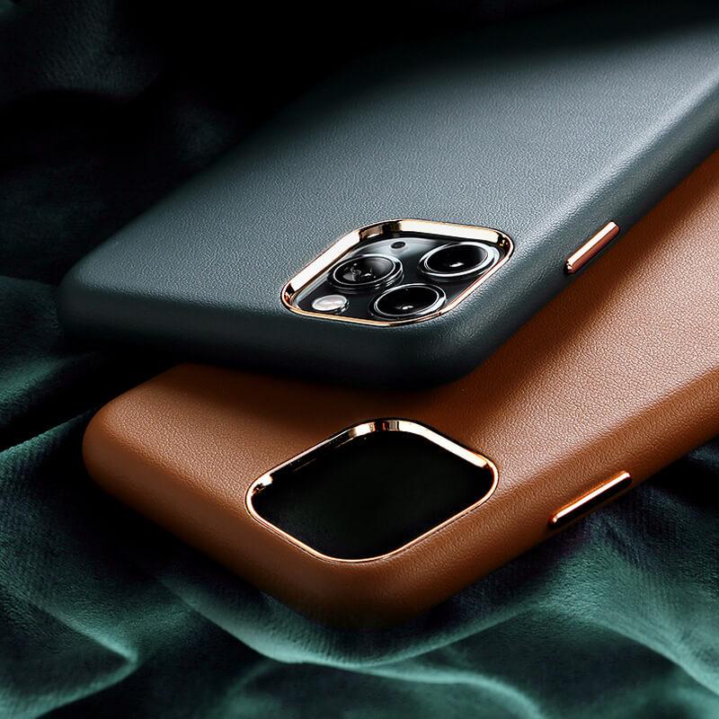 iPhone 12 Pro Max レザーケース(合皮)